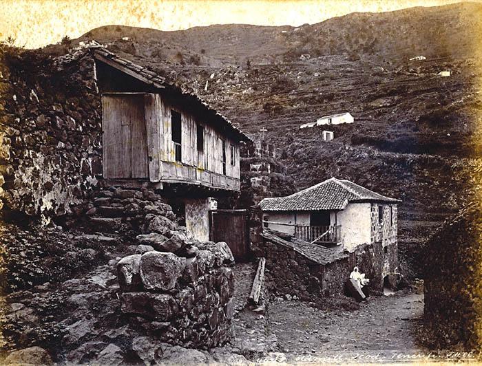 Viviendas y molino de agua en icod tenerife - Las casas canarias lanzarote ...